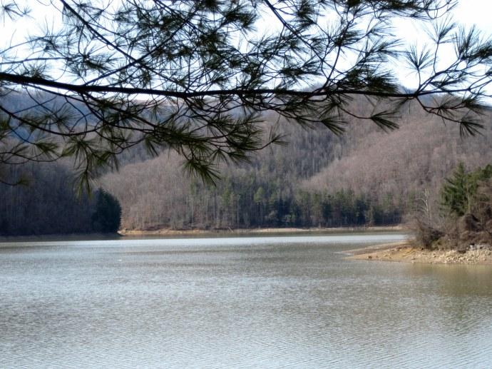 Martin's Fork Lake, February 25, 2010