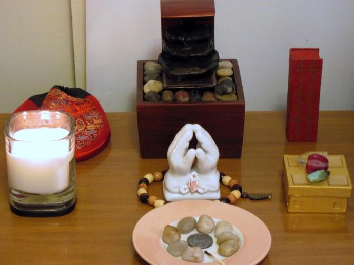 My altar on 3/14/2010