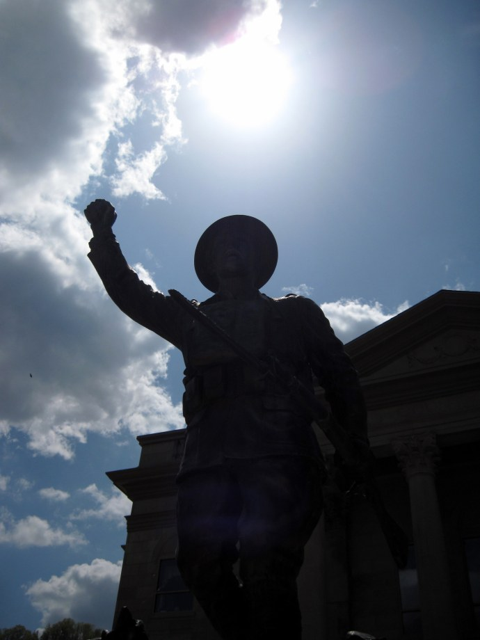 World War I Memorial. Taken 4/21/2010 with Canon PowerShot A 1100 IS.