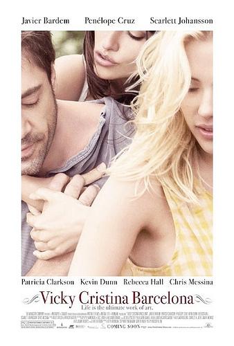 'Vicky Cristina Barcelona' movie poster