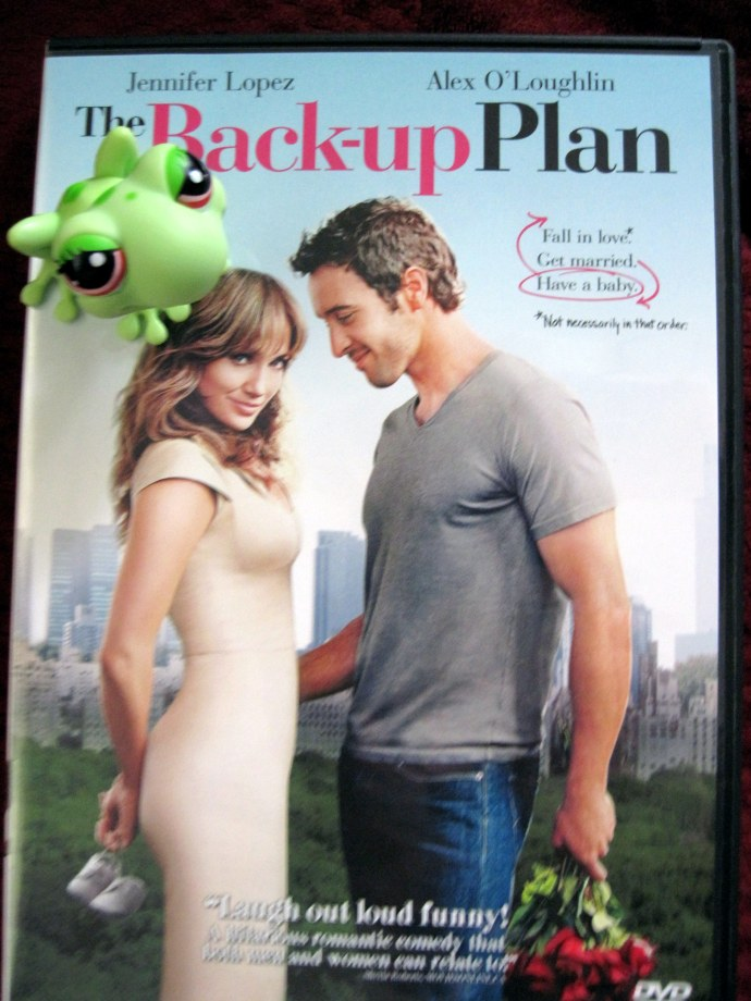 Frieda and I are going to kick off the weekend with a hilarious movie: 'The Back-Up Plan'.