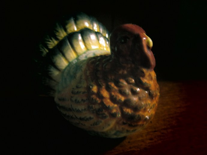 Turkey figurine. Taken 11/23/11.