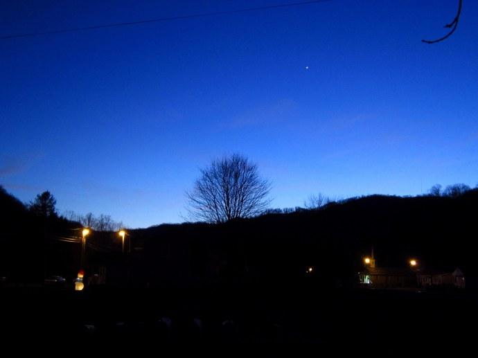 Night's hush descending. 12/29/11. Canon A3300 IS.